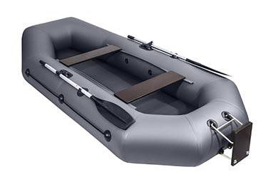 Лодки с навесным транцем