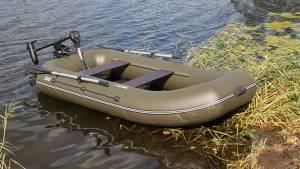 Лодка ПВХ Pelican Гавиал 260 (навесной транец)