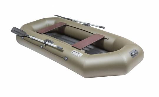 Лодка ПВХ Pelican Гринда 260 (надувное дно)