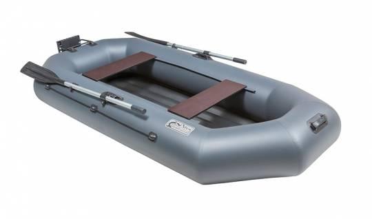 Лодка ПВХ Pelican Гринда 260 (надувное дно+навесной транец)