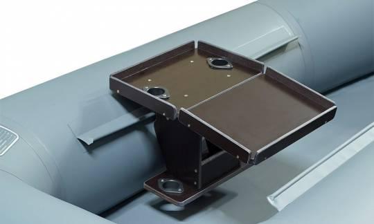 Раскладной стол на лик-трос с 2-мя удочкодержателями