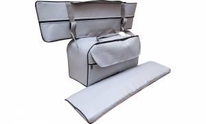 Комплект сумка-рундук и мягкие накладки 75х20 см ПВХ