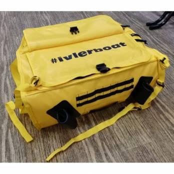 Носовая сумка-рундук с держателями спиннинга (102 л)