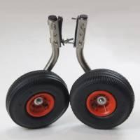 Транцевые колеса из нержавейки ТК - 1 (быстросъемные)