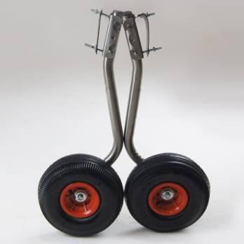 Транцевые колеса из нержавейки ТК - 3 (быстросъемные) НДНД