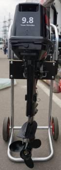 Тележка для лодки или мотора ТЛМ - 1 (алюминиевая)
