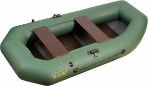 Лодка ПВХ Камыш 2500 со складной сланью