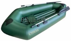 Лодка Пакрафт СТРЕЛА до 140 кг (съёмное надувное дно)