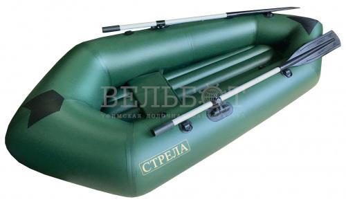 Лодка Пакрафт СТРЕЛА до 180 кг (съёмное надувное дно)