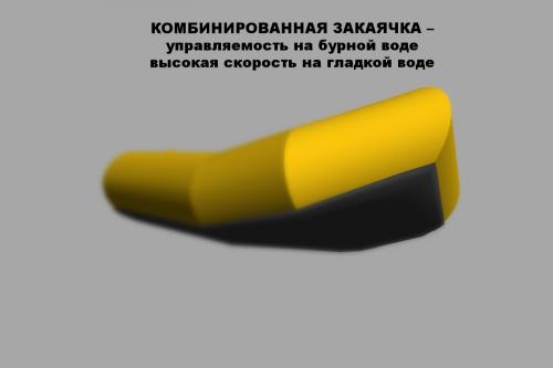 Лодка ПАКРАФТ ИВОЛГА Удлиненная