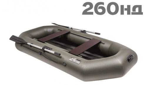 Лодка ПВХ Акула 260НД