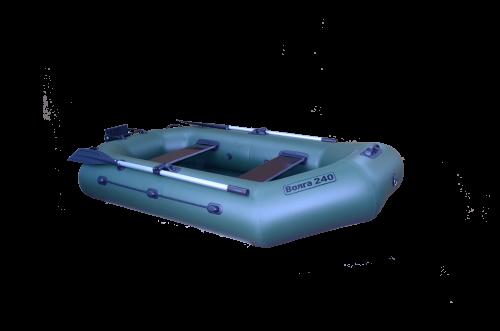 Лодка ПВХ ВОЛГА 240 (стационарное сиденье)