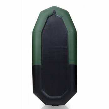 Лодка ПВХ Компакт 265 черно-зеленая