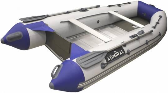 Лодка ПВХ Адмирал 320 Classic с алюминиевым дном