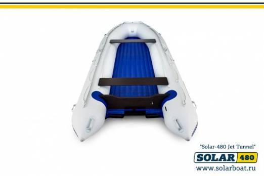 Лодка ПВХ SOLAR-480 Jet tunnel