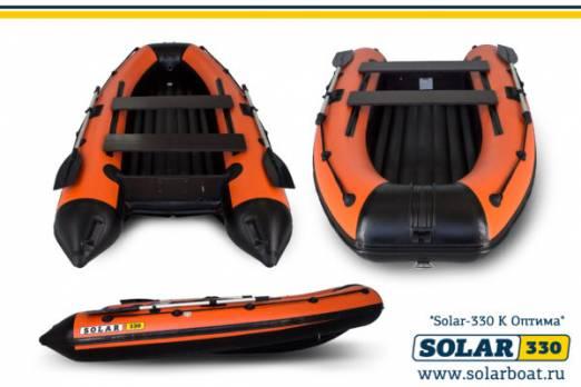 Лодка ПВХ SOLAR-330 К (Оптима)