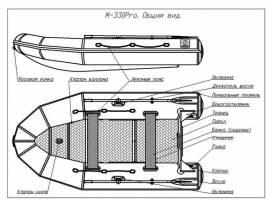 Лодка ПВХ Фрегат 330 Pro F (Про Ф) с фальшбортом