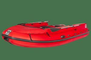 Лодка ПВХ Фрегат 430 FM Lux (ФМ Люкс) с откидным фальшбортом