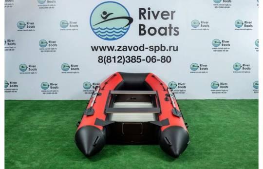 Лодка ПВХ RiverBoats RB 370 (алюминиевый пол)