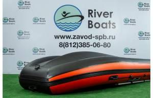 Лодка ПВХ RiverBoats RB 390 (алюминиевый пол)