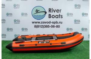 Лодка ПВХ RiverBoats RB 410 (алюминиевый пол)