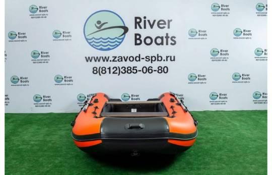 Лодка ПВХ RiverBoats RB 430 (алюминиевый пол)
