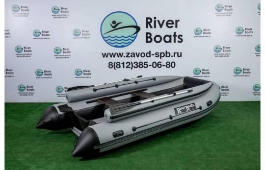 Лодка ПВХ RiverBoats RB 370 (НДНД) + Фальшборт