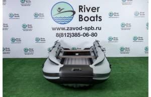 Лодка ПВХ RiverBoats RB 430 (НДНД) + Фальшборт