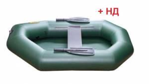 Лодка ПВХ Инзер 1 гр (170) 2 НД